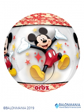 Mickey Mouse 3D kugla balon folijski